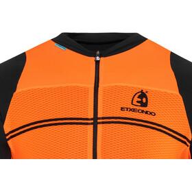 Etxeondo Beira Maillot Manga Corta Hombre, orange